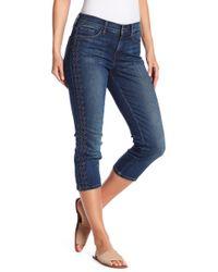 NYDJ - Alina Embroidery Capri Jeans - Lyst