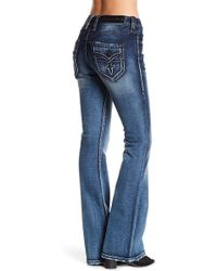 Rock Revival - Luz Mid Rise Flare Jeans - Lyst
