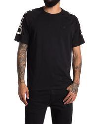 DKNY Hillman Logo Print T-shirt - Black