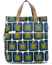 Orla Kiely - Love Birds Print Backpack - Lyst