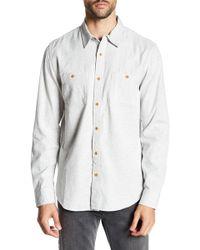 Lucky Brand - Mason Workwear Button Up Slim Fit Shirt - Lyst