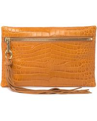 Elizabeth and James - Scott Leather Clutch - Lyst