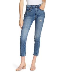 """Levi's - 501 Altered Skinny Jeans - 28"""" Inseam - Lyst"""