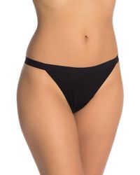 Madewell - Solid Knit Thong - Lyst