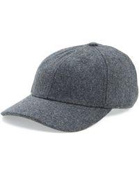 Madewell - Wool Blend Baseball Cap - Lyst