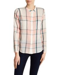 Joe's Jeans - Genevieve Plaid Shirt - Lyst