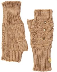 Vince Camuto - Studded Arm Warmer Fingerless Gloves - Lyst