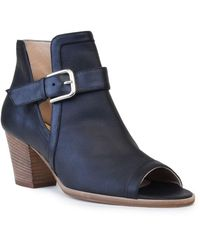 Amalfi by Rangoni Carlo Open Toe Bootie - Narrow Width Available - Black