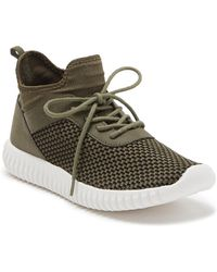 Dirty Laundry Harlen Knit Sneaker - Green