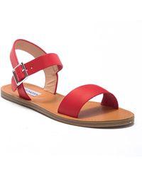 Steve Madden - Zone Ankle Strap Sandal - Lyst