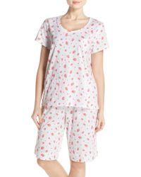 Carole Hochman - Print Cotton Pyjamas - Lyst