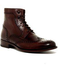 Saks Fifth Avenue Depo Wingtip Boot - Brown