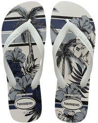 Havaianas Aloha Flip Flop - White