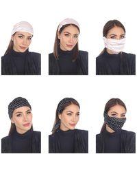 Boho Me 3-in-1 Adult Face Mask/headband/scarf - Multicolor