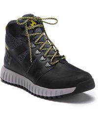 Helly Hansen Vanir Gallivant Waterproof Leather High-top Sneaker Boot (men) - Black