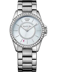 Juicy Couture - Women's Laguna Crystal Bracelet Watch - Lyst