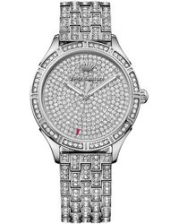 Juicy Couture - Women's Arianna Crystal Bracelet Watch - Lyst