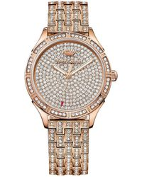 Juicy Couture   Women's Arianna Crystal Bracelet Watch   Lyst