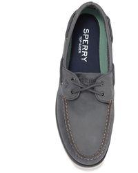 Sperry Top-Sider Leeward 2-eye Boat Shoe - Blue