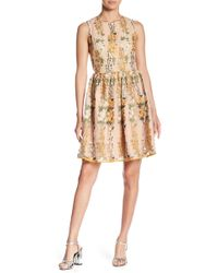 Endless Rose - Embroidered Floral Fit & Flare Dress - Lyst
