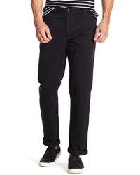 "Black Brown 1826 - Henry Classic Fit Chino Pants - 30-34"" Inseam - Lyst"