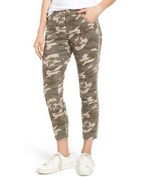 Jag Jeans - Evans Camo Skinny Trousers - Lyst