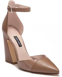 Nine West - Hartley Leather Pump - Lyst