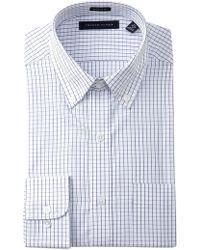 Tommy Hilfiger - Tattersall Regular Fit Dress Shirt - Lyst