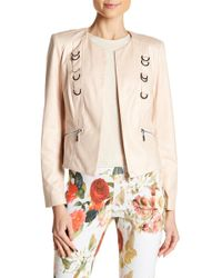 Insight - Cracked Faux Leather Jacket - Lyst