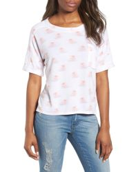 Caslon - Off-duty Pocket Tee - Lyst