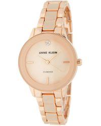 Anne Klein - Women's Diamond Bracelet Watch, 32mm - 0.05 Ctw - Lyst