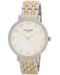 Kate Spade - Women's Monterey Bracelet Watch - Lyst