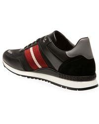 Bally Aseo Runner Sneaker - Black
