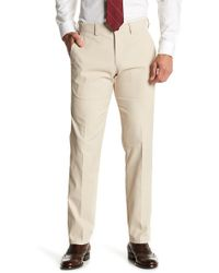 "Kenneth Cole Reaction - Performance Twill Techni-cole Slim Fit Trousers - 29-34"" Inseam - Lyst"