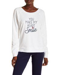 Love+Grace - Graphic Sweatshirt - Lyst
