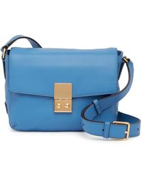 Cole Haan - Allanna Leather Crossbody Bag - Lyst