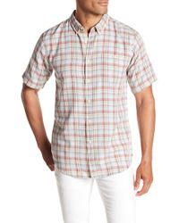 Ezekiel - Dale Short Sleeve Woven Regular Fit Shirt - Lyst