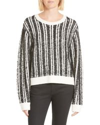Public School | Nabila Stripe Sweater | Lyst