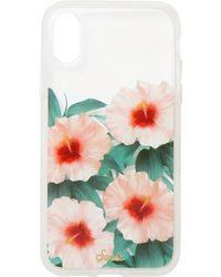 wholesale dealer 98a11 cae42 Tropical Bloom Clear Coat Iphone X Case
