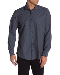 Tocco Toscano - Printed Dress Shirt - Lyst