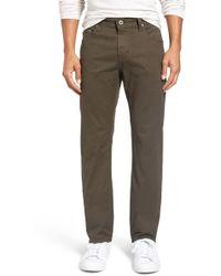 AG Jeans - 'matchbox Bes' Slim Fit Pants - Lyst