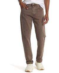 Citizens of Humanity Wyatt Authentic Narrow Fit Jeans - Brown