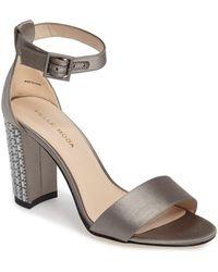 Pelle Moda - Bonnie 3 Embellished Ankle Strap Sandal (women) - Lyst