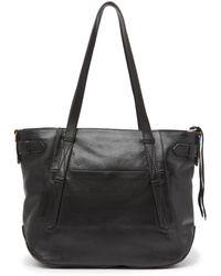 Aimee Kestenberg City Slicker Leather Tote Bag In Black At Nordstrom Rack
