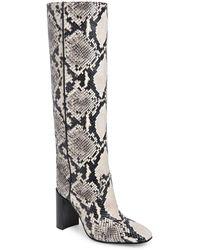 Rag & Bone Aslen Leather Tall Boot - Black