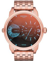 DIESEL - Men's Mini Daddy Watch, 46 Mm X 54 Mm - Lyst