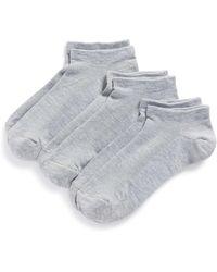 Zella Fitness 3-pack Liner Socks, Gray