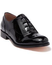 RED Valentino Valentino Garavani Ballerinas Patent Leather Oxford - Black