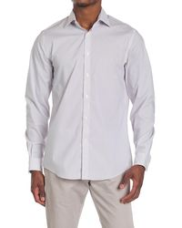 MICHAEL Michael Kors Mini Geo Print Regular Fit Shirt - Purple