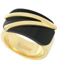 Botkier - Square Accented Double Band Ring - Size 7 - Lyst